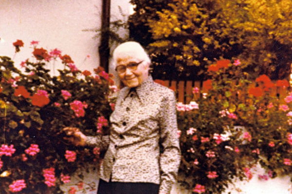 Mamma Klotz un fiore nel giardino del Signore